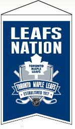 Toronto Maple Leafs Nations Banner - 30204 - Hockey Nhl Hockey Toronto Maple Leafs Banners 30204