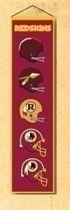 Washington Redskins Heritage Banner - 44005 - Football Nfl Football Washington Redskins Banners 44005