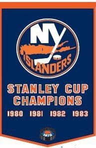 New York Islanders Banner - 78070 - Hockey Nhl Hockey New York Islanders Banners 78070