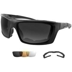 Collegiate Sports Ncaa College Bowdoin Bowdoin Polar Bears Sunglasses - 803902 - Bobster Trident Convertible Polarized Smked Clr & Amber Lens 803902