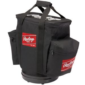Baseball & Softball Baseball & Softball Protective Gear Baseball Gloves & Mitts - 1007659 - Rawlings Baseball Bucket Ball Bag-black 1007659
