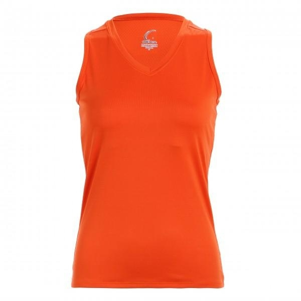 Clothing Shirts And Tops Womens - Cc1230-o - Orange Racerback Tank Top CC1230-O
