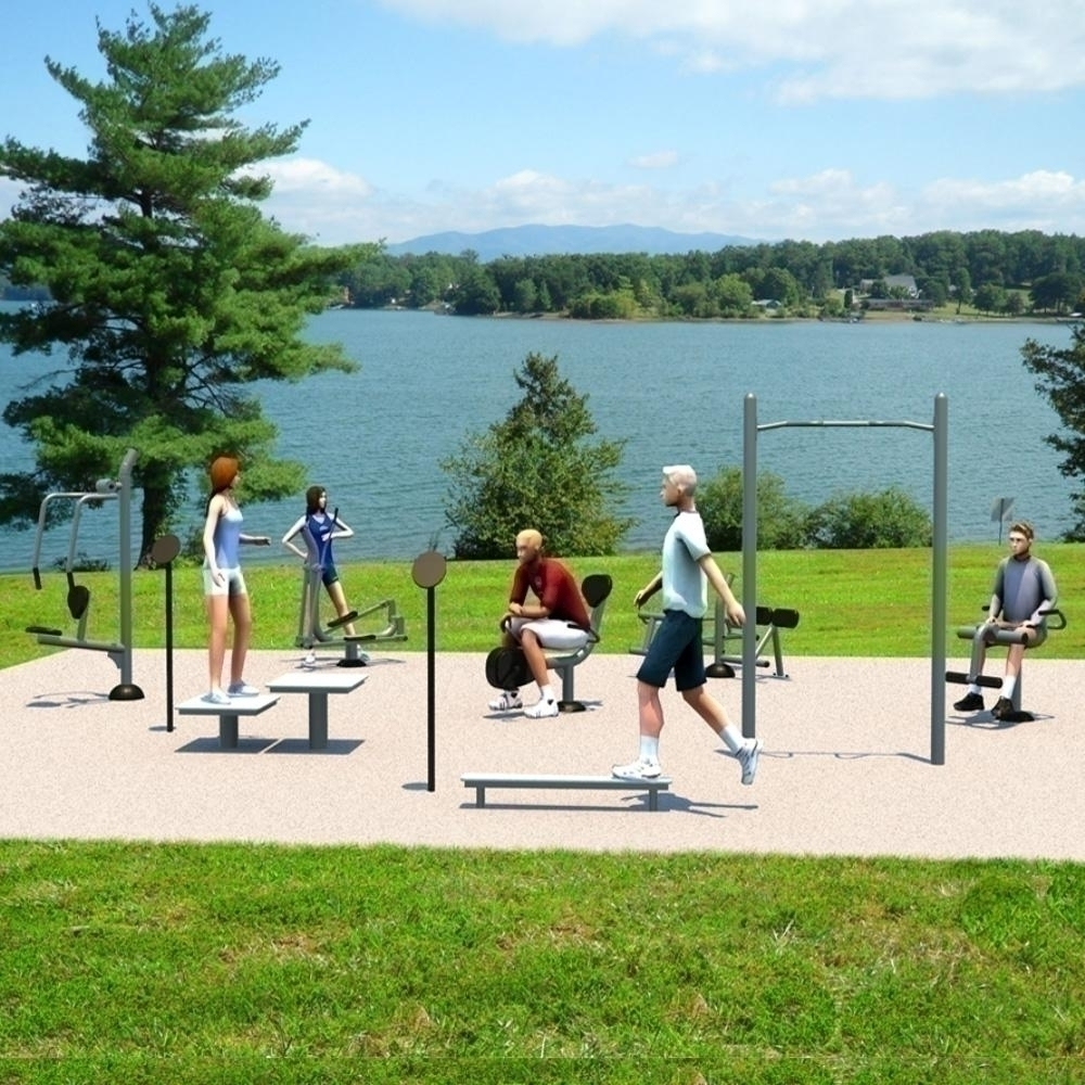 Medium Fitness Kit; Inground Mount - Up301s - Physical Education Sport Fitness Equipment Accessories Fitness Games UP301S