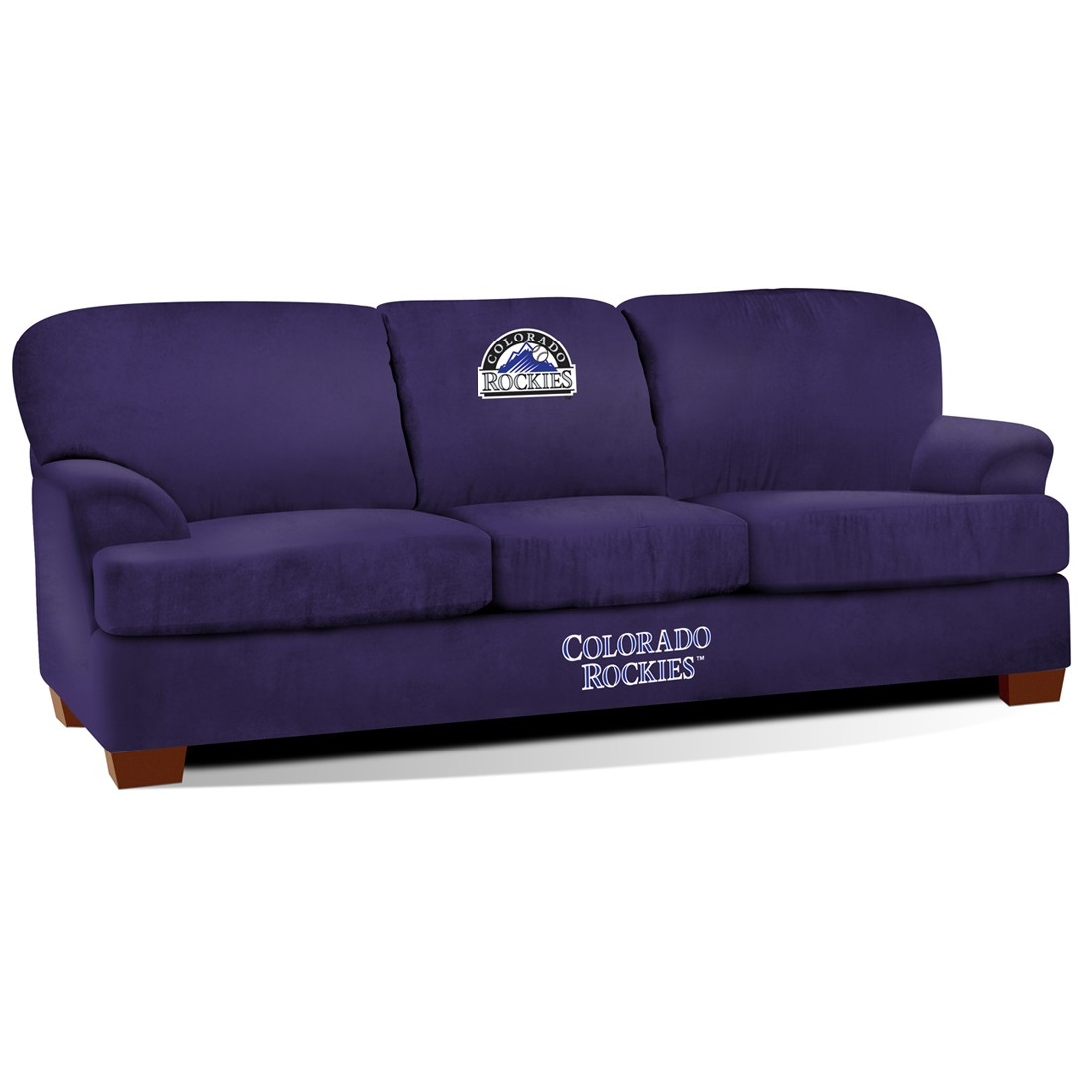 Colorado  First Team Microfiber Sofa - 205-2023 - Toys Tables And Chairs 205-2023