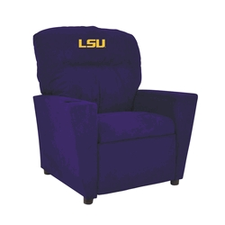 Louisiana State University Kids Microfiber Recliner - 306-3005 - Facilities Management Bar Furniture Bar Chairs 306-3005