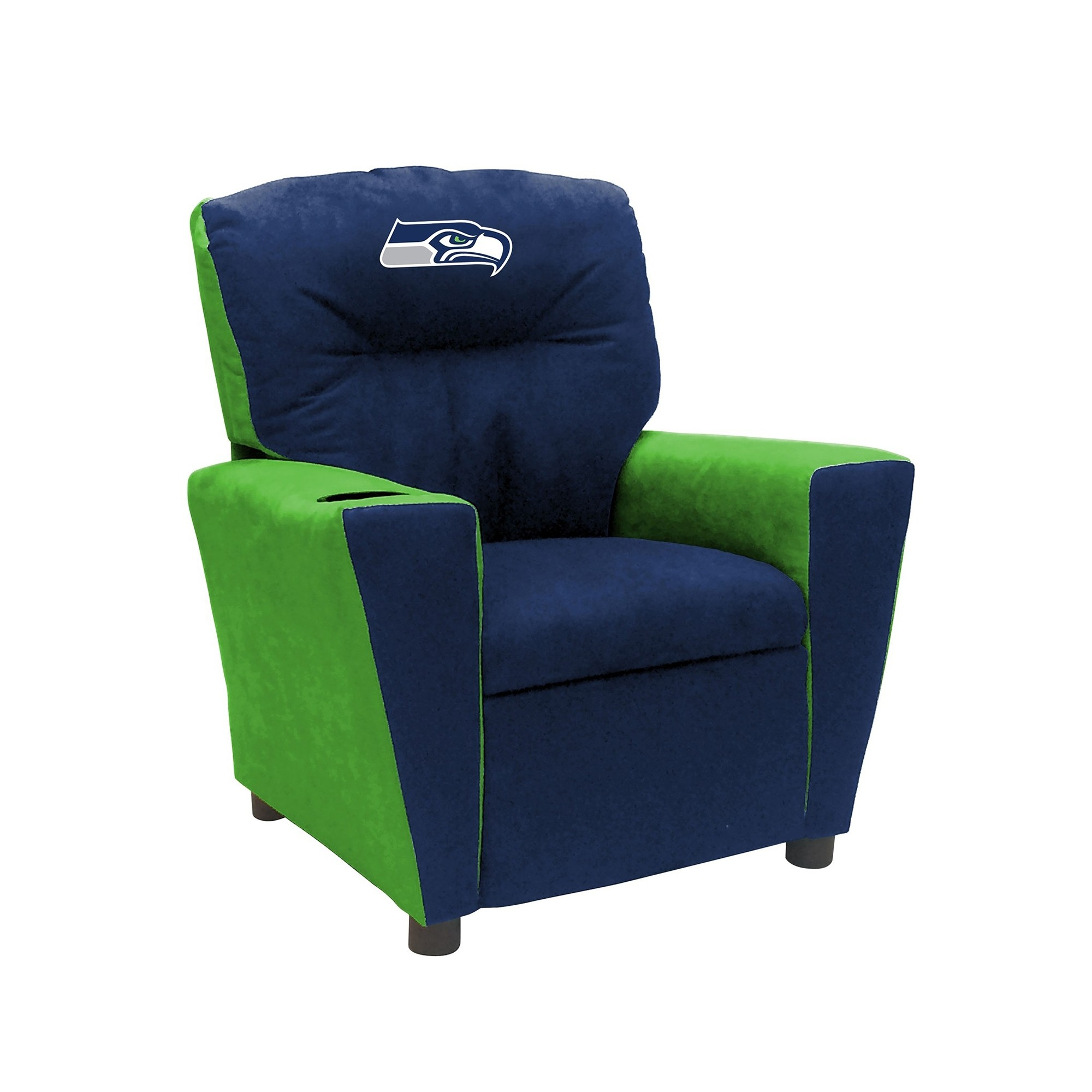 Seattle Seahawks Fan Favorite Recliner; Kids - 122-1024 - Football Nfl Football Seattle Seahawks Kids Dish Sets 122-1024