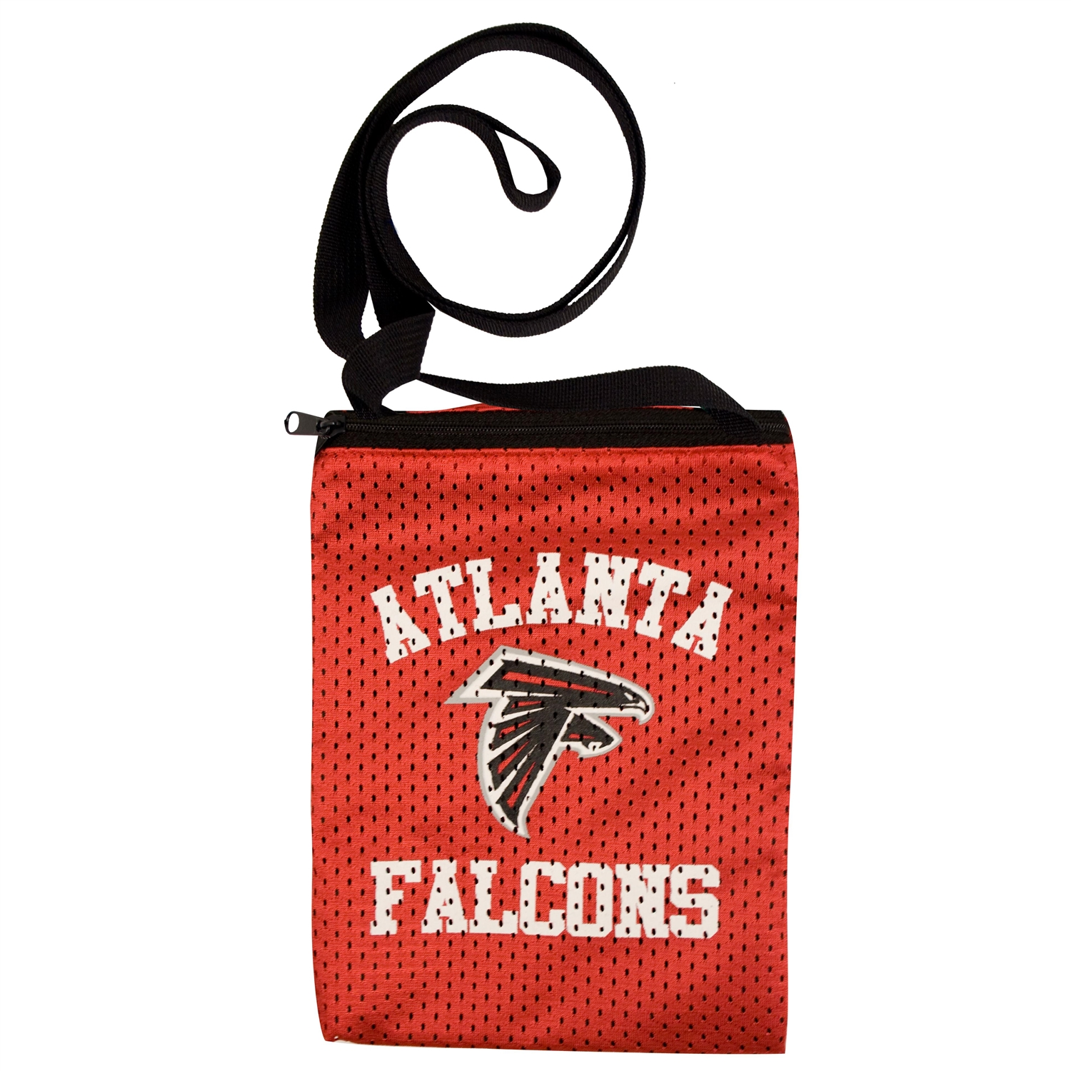 Atlanta Falcons Game Day Pouch - 300103-falc - Handbags; Wallets Cases Nfl 300103-FALC