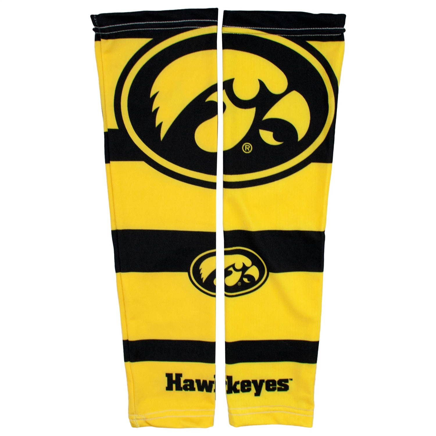 Ncaa College Iowa Iowa Hawkeyes Strong Arm Sleeves - 100612-uiwa - Iowa; U Of Strong Arm 100612-UIWA