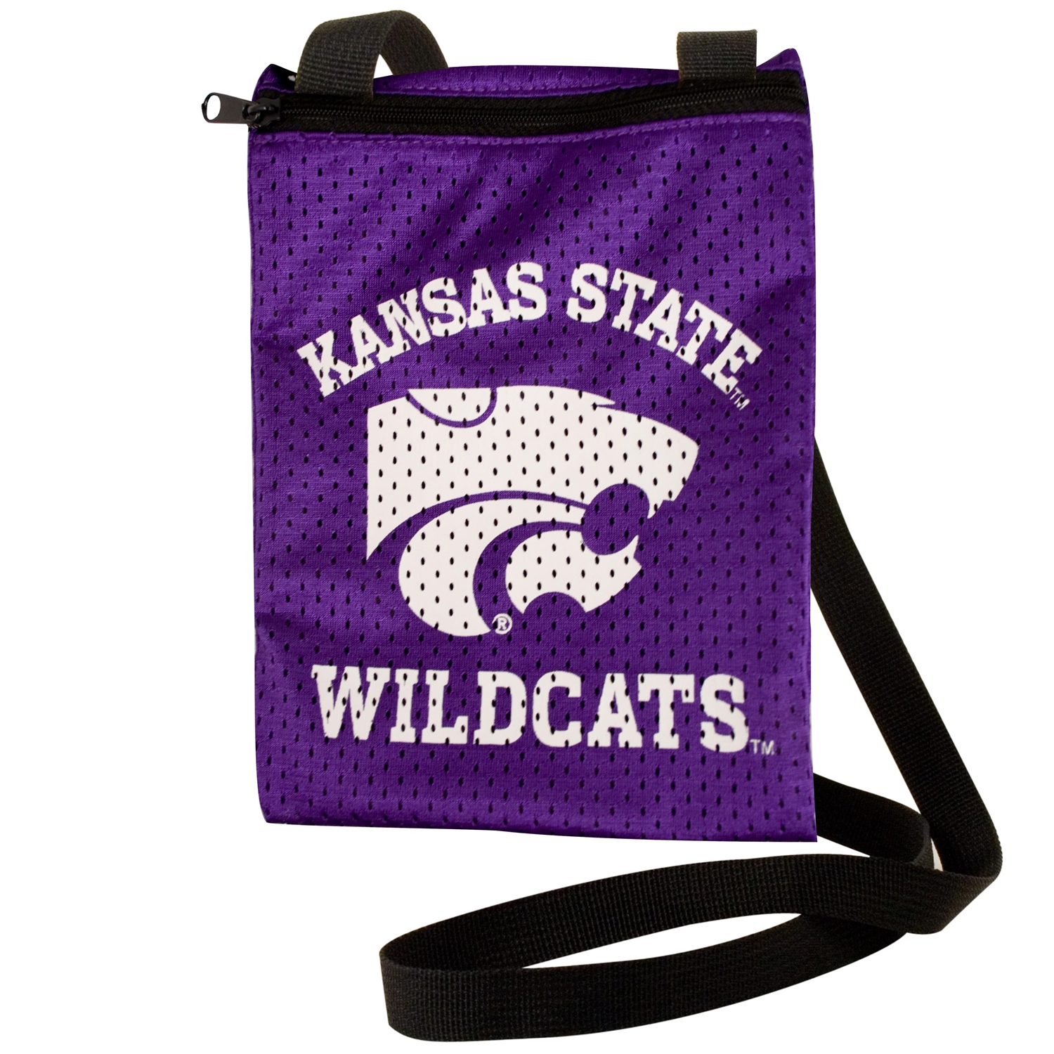 Kansas State Wildcats Game Day Pouch - 100103-kssu-1 - Handbags; Wallets Cases Ncaa University 100103-KSSU-1
