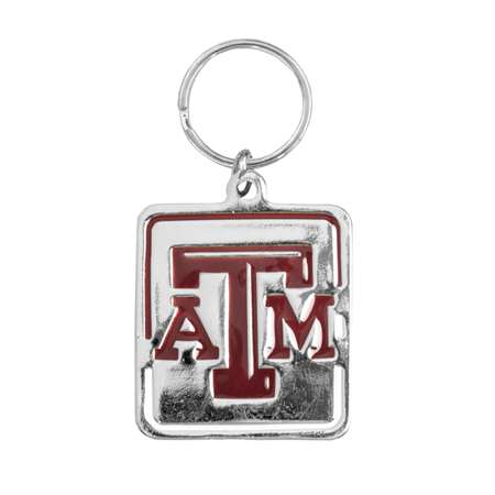 Texas A & M University Pet Collar Charm - 100430-txam - Ncaa College Texas Wesleyan University Txwes Rams Pet Fan Gear 100430-TXAM