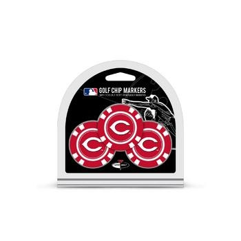 Cincinnati Reds 3 Pack Golf Chips - 95688 - Golf Golf Headcovers Apparel Golf Bags: Golf Ame & Lulu Collection 95688
