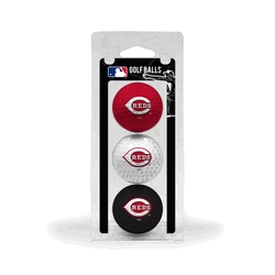Cincinnati Reds Golf Balls 3 Pack - 95605 - Golf Golf Headcovers Apparel Golf Bags: Golf Ame & Lulu Collection 95605