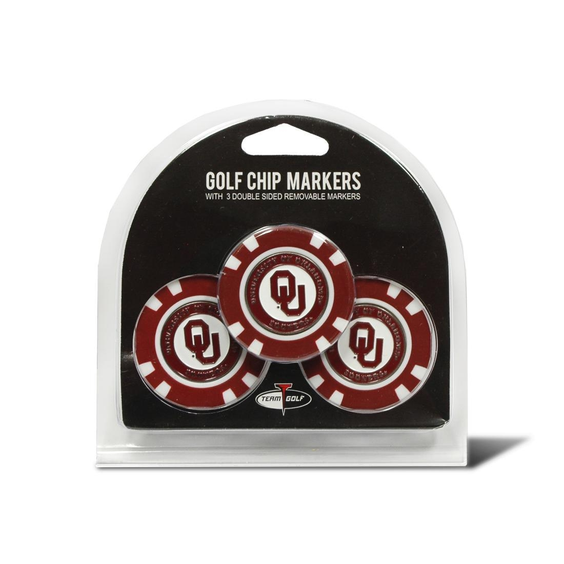 Oklahoma 3 Pack Golf Chip Ball Markers - 24488 - Golf Golf Headcovers Apparel Golf Bags: Golf Ame & Lulu Collection 24488
