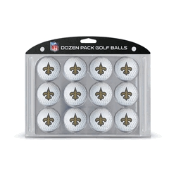 New Orleans Saints Golf Balls Dozen Pack - 31803 - Tennis Balls Tennis Balls All Balls 31803