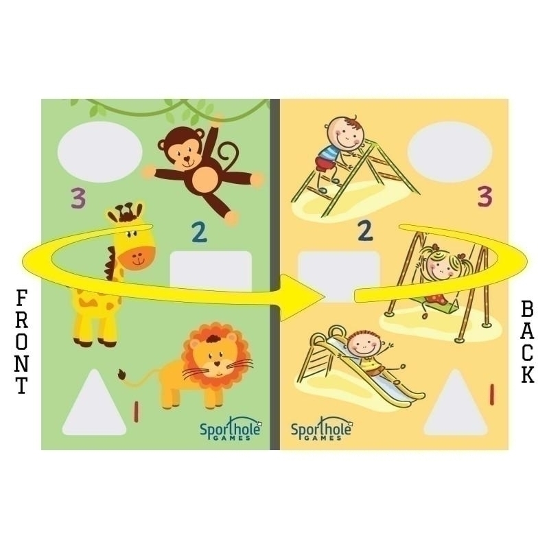 Zoo & Playground Gameboard - Board-zoo-play - Toys Playgrounds BOARD-ZOO-PLAY