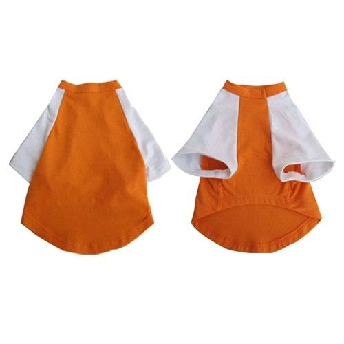 Pretty Pet Orange And White Top-small - 91954 - Water Sports Boating & Water Sport Apparel Wetsuit Pieces Wetsuit Tops 91954