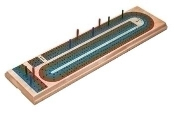 Wooden Cribbage Board - 55-0106 - Track And Field Plyometrics Wooden Plyometric Boxes 55-0106