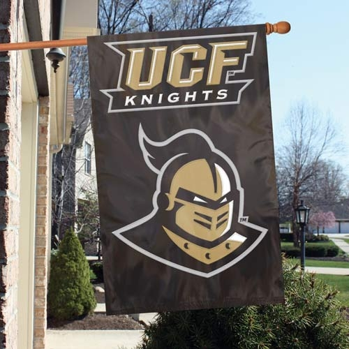 Central Florida Knights Appliqu Banner Flag - Afucf - Officiating Linesman Flags AFUCF