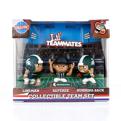 Michigan State Spartans Lil' Teammates Team Set - Lt3pms - Kite Sports Kites Windsocks LT3PMS