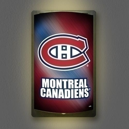 "Montreal Canadiens Motiglow"" Light Up Sign - Mgcan - Hockey Nhl Hockey Montreal Canadiens Indoor Home Office Signs MGCAN"