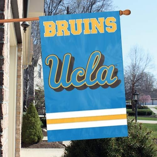 Ucla Bruins Appliqu Banner Flag - Afucla - Collegiate Sports Ncaa College Ucla Ucla Bruins Indoor Home Office Banners AFUCLA