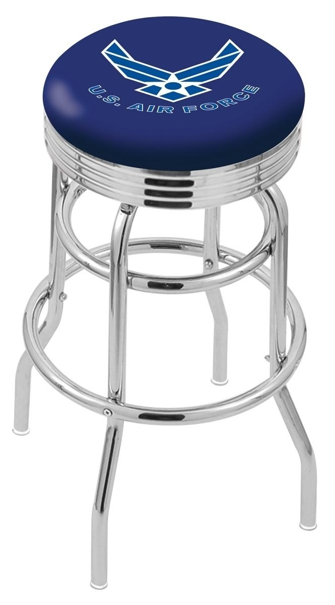 U.s. Air Force Bar Stool-l7c3c - L7c3c25airfor - Chairs Table Military Stool L7C3C25AIRFOR