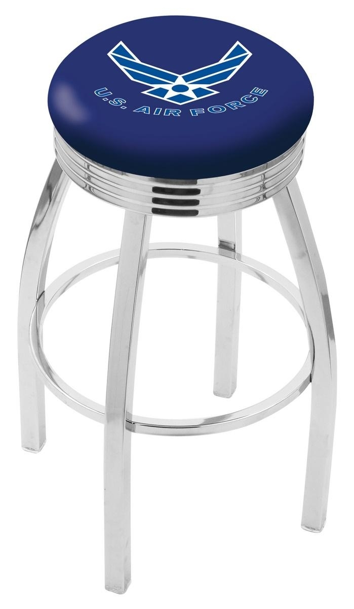 U.s. Air Force Bar Stool-l8c3c - L8c3c30airfor - Chairs Table Military Stool L8C3C30AIRFOR
