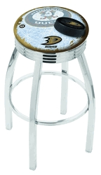 Anaheim Ducks Bar Stool-l8c3c - L8c3c30anadks-d2 - Chairs Table Nhl Stool L8C3C30ANADKS-D2