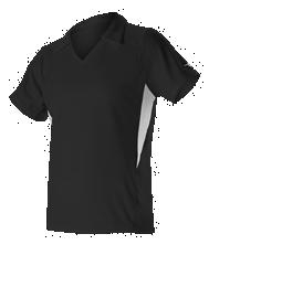 Womens Gameday Press Conference Polo ; Black - Gpl2w-bkwh - Tennis Womens Apparel Pants Activewear GPL2W-BKWH