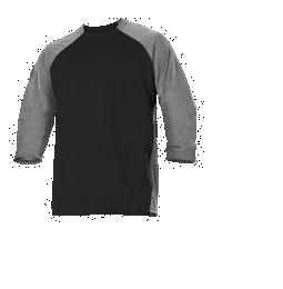 Youth Baseball Game And Training Jersey ; Black - 509tjy-bkhe - Tennis Training Training Aids 509TJY-BKHE