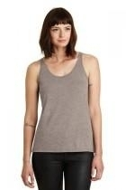 Alternative Airy Melange Burnout Tank - Aa2833-dirtyheather - Shirts And Tops T-shirts 50/50 Blend AA2833-DIRTYHEATHER