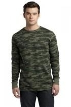District-young Mens Long Sleeve Thermal - Dt118-armycamo - Clothing District DT118-ARMYCAMO