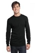 District-young Mens Long Sleeve Thermal - Dt118-black - Tennis Mens Apparel Pants J Sun 7 Men DT118-BLACK
