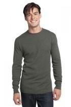 District-young Mens Long Sleeve Thermal - Dt118-deepheather - Clothing District DT118-DEEPHEATHER