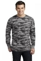 District-young Mens Long Sleeve Thermal - Dt118-greycamo - Tennis Mens Apparel Pants J Sun 7 Men DT118-GREYCAMO