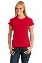 Gildan Softstyle Junior Fit T-shirt - 64000l-red - Clothing Shirts And Tops 64000L-RED