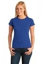 Gildan Softstyle Junior Fit T-shirt - 64000l- - Clothing Shirts And Tops 64000L-ROYAL