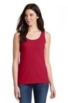 Gildan Softstyle Junior Fit Tank Top - 64200l-cherryred - Clothing Shirts And Tops 64200L-CHERRYRED