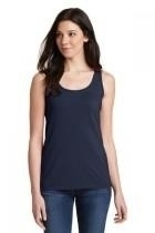Gildan Softstyle Junior Fit Tank Top - 64200l-navy - Clothing Shirts And Tops 64200L-NAVY