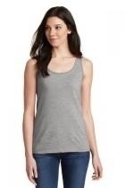 Gildan Softstyle Junior Fit Tank Top - 64200l-sportgrey - Clothing Shirts And Tops 64200L-SPORTGREY