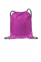 Port Authority Patterned Cinch Pack - Bg612-bubblespink - Shirts And Tops BG612-BUBBLESPINK
