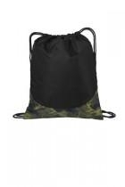 Port Authority Patterned Cinch Pack - Bg612-camouflage - Tennis Tennis Tour Tote Bag Pattern Shoulder Bag Tote: Ame And Lulu Attractive Designs BG612-CAMOUFLAGE