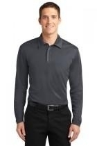 "Port Authority Silk Touch"" Performance Long Sleeve Polo - K540ls-steelgrey - Tennis Womens Apparel Shirts Tops & Jersey Mondetta Performance Group K540LS-STEELGREY"