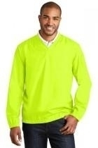 Port Authority Zephyr V-neck Pullover - J342-safetyyellow - Basketball Portable Backstop Systems J342-SAFETYYELLOW