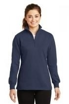 Sport-tek Ladies 1/4-zip Sweatshirt - Lst253-truenavy - Clothing Shirts And Tops Sport-tek LST253-TRUENAVY