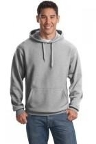 Sport-tek Super Heavyweight Pullover Hooded Sweatshirt - F281-athleticheather - Track And Field Cross Country Cones Heavyweight Colored Cones F281-ATHLETICHEATHER