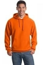 Sport-tek Super Heavyweight Pullover Hooded Sweatshirt - F281-orange - Track And Field Cross Country Cones Heavyweight Colored Cones F281-ORANGE