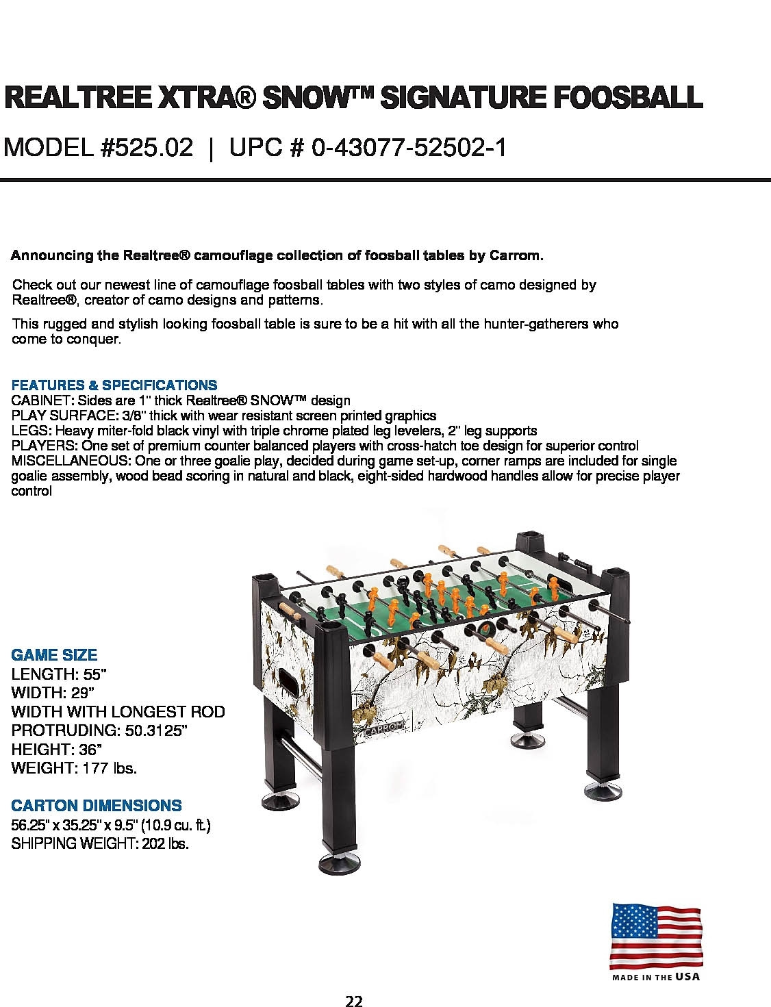 Carrom Signature Foosball Foosball Tables Sports Outdoors